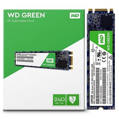 SSD WD Green 240GB M2-2280